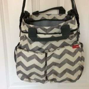 Handbags - Gray Diaper Bag